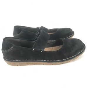 Clarks Collection 6.5M Black Suede Mary Jane
